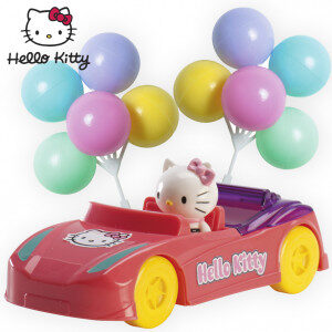 HELLO KITTY-TAARTSET-KINDERTAARTSET